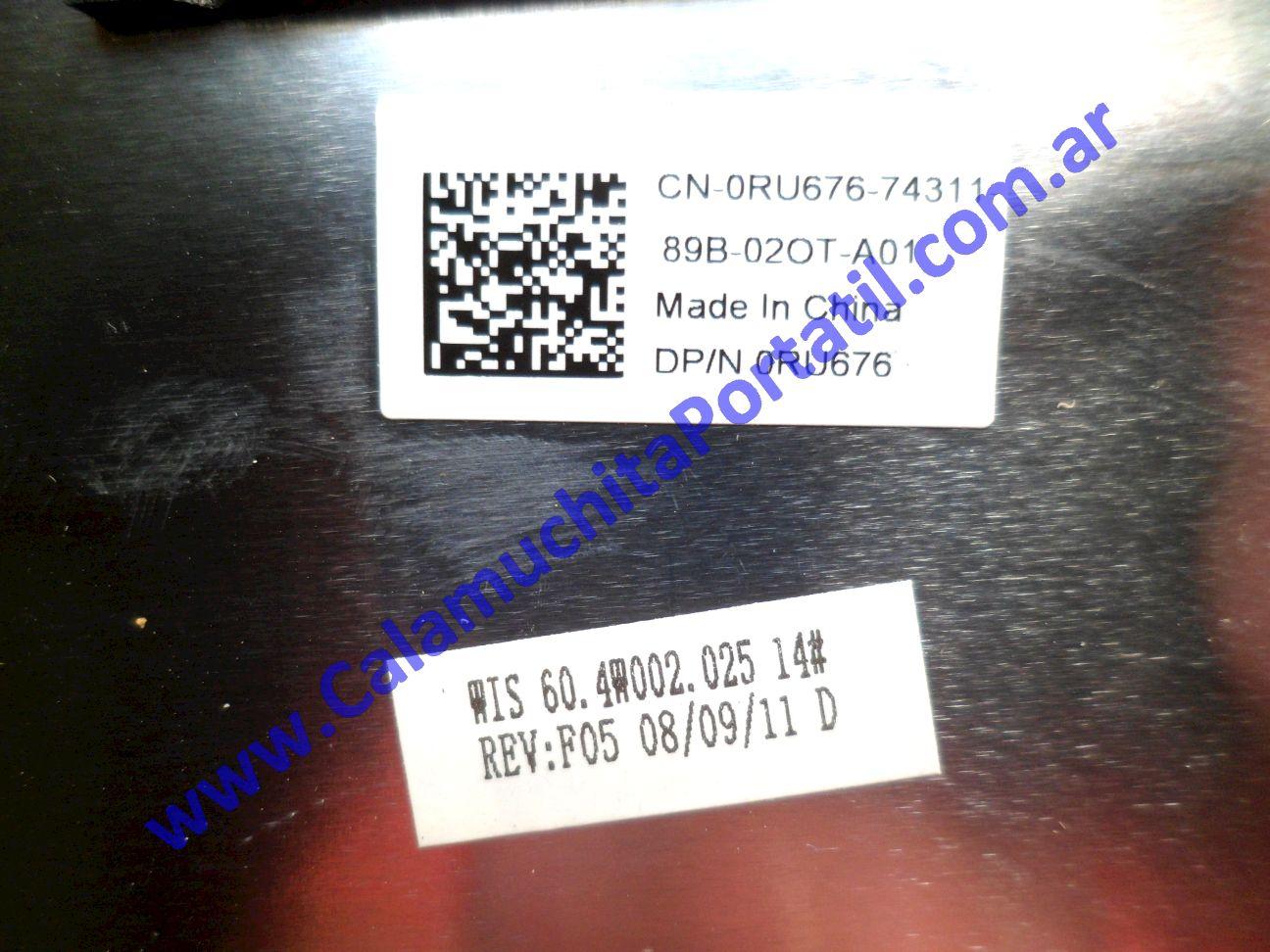 0532CAA Carcasa Tapa Dell Inspiron 1525 / PP29L