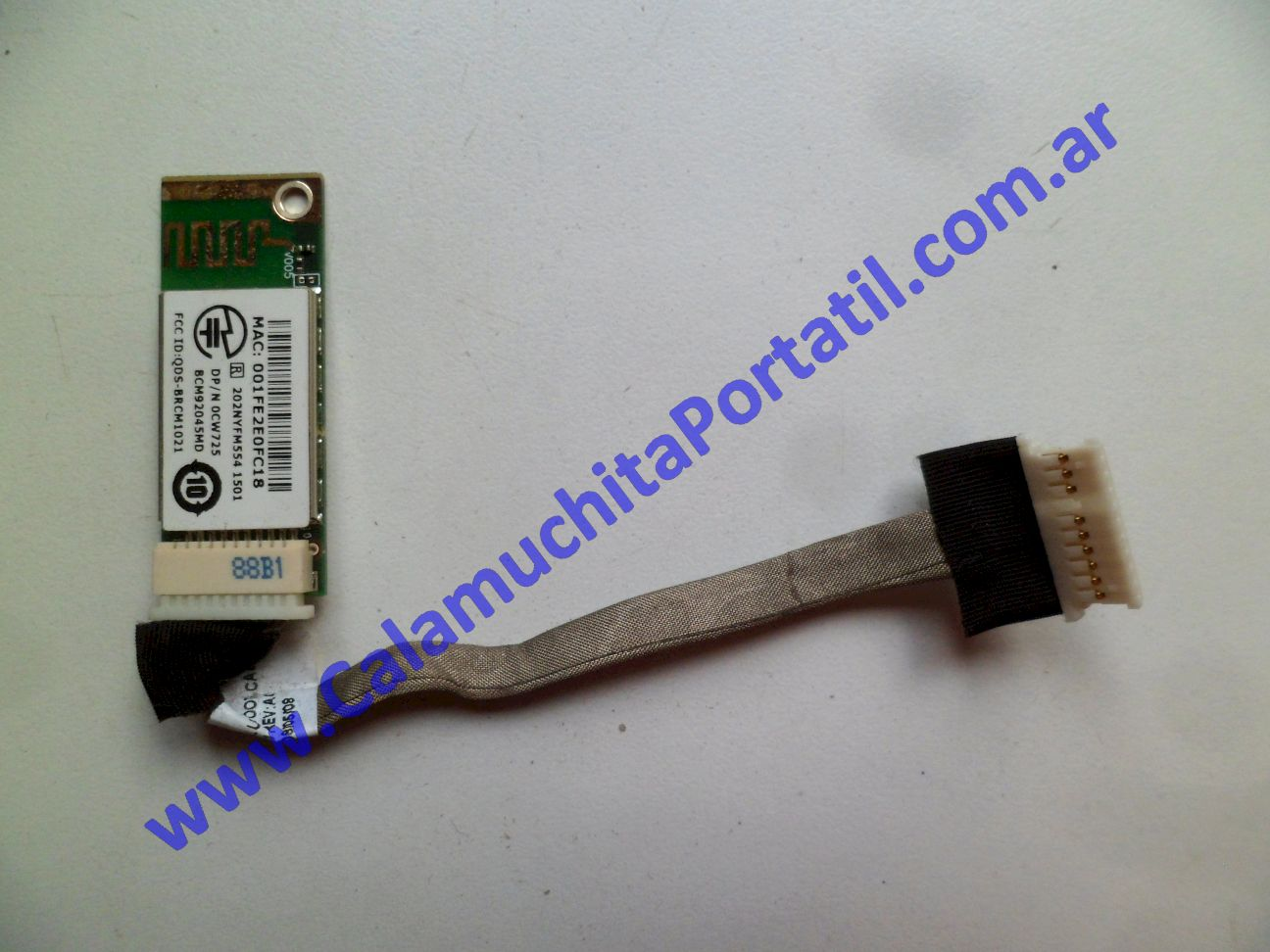 0532PBL Placa Bluetooth Dell Inspiron 1525 / PP29L