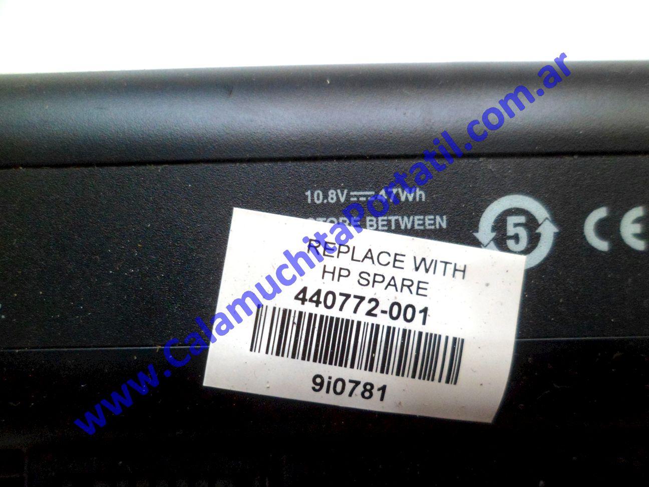 0533BAA Batería Hewlett Packard Pavillion dv2000 / DV2425la / GM691LA#AC8