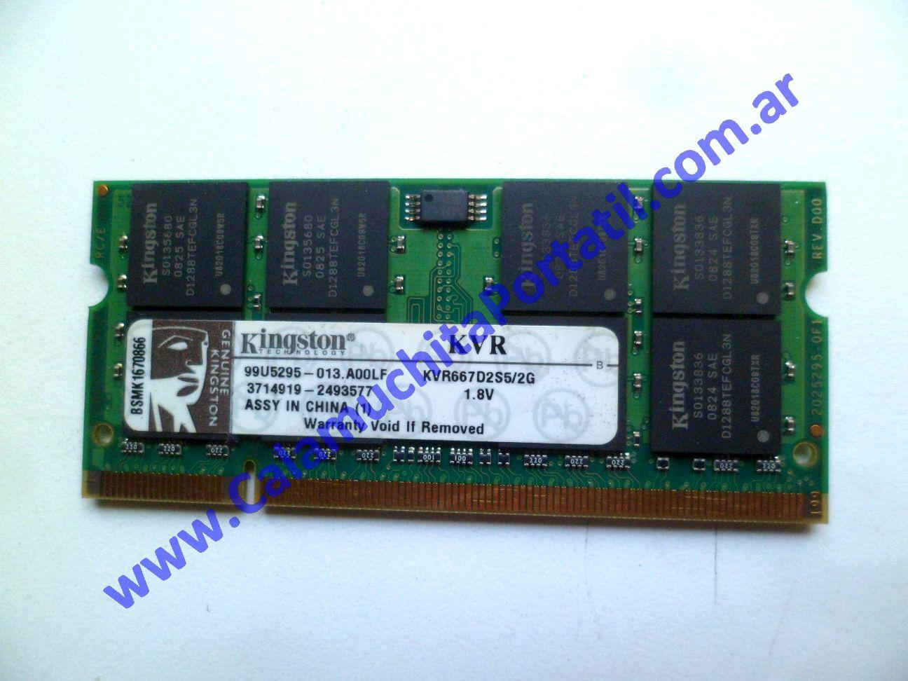 0533NMA Memoria Hewlett Packard Pavillion dv2000 / DV2425la / GM691LA#AC8