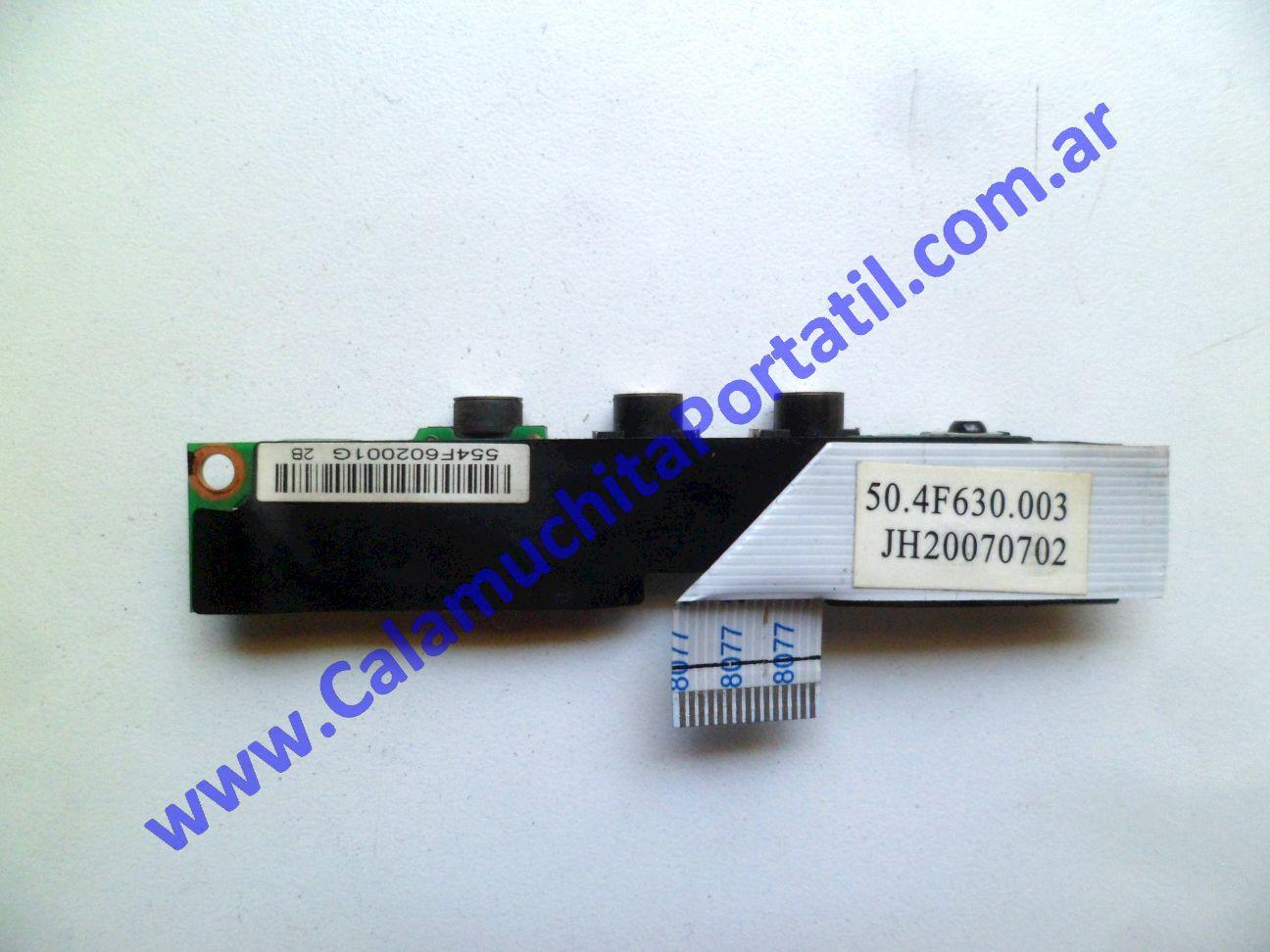 0533PSO Placa Sonido Hewlett Packard Pavillion dv2000 / DV2425la / GM691LA#AC8