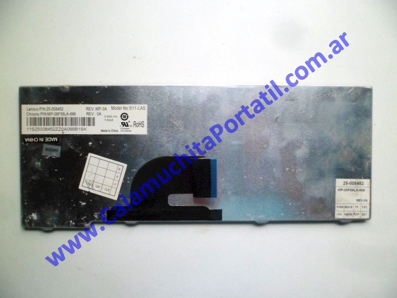 0534KBA Teclado Lenovo IdeaPad S10-2 / 2957