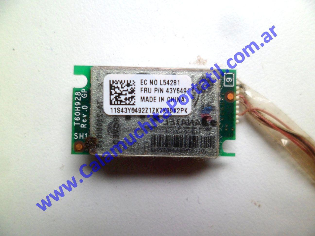 0534PBL Placa Bluetooth Lenovo IdeaPad S10-2 / 2957