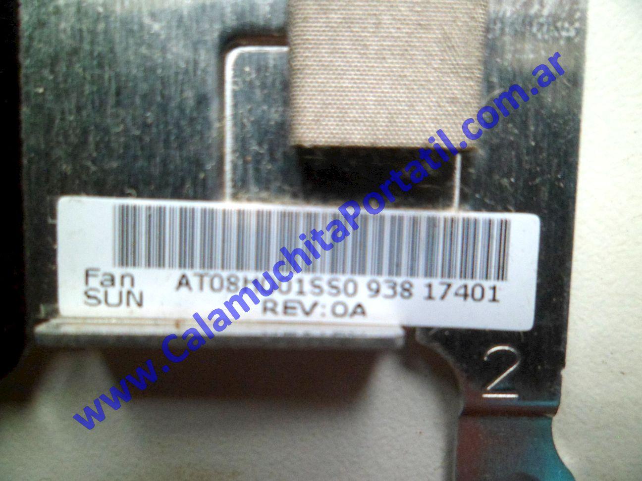 0534VDA Cooler C/Disipador Lenovo IdeaPad S10-2 / 2957