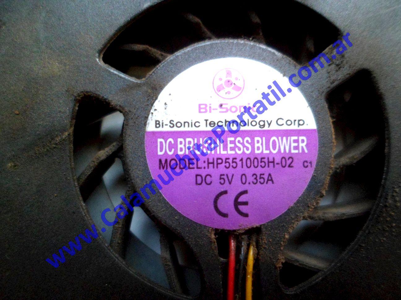 0535VDA Cooler C/Disipador Olivetti Olibook Series 500