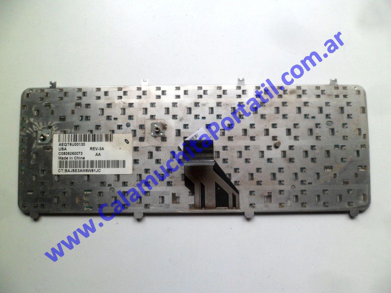 0536KBA Teclado Hewlett Packard Pavillion dv5-1004nr / FE765UA#ABA
