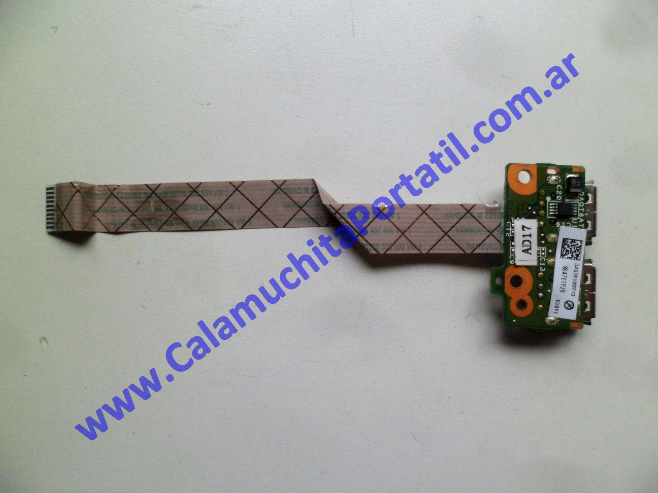 0536PUS Placa USB Hewlett Packard Pavillion dv5-1004nr / FE765UA#ABA