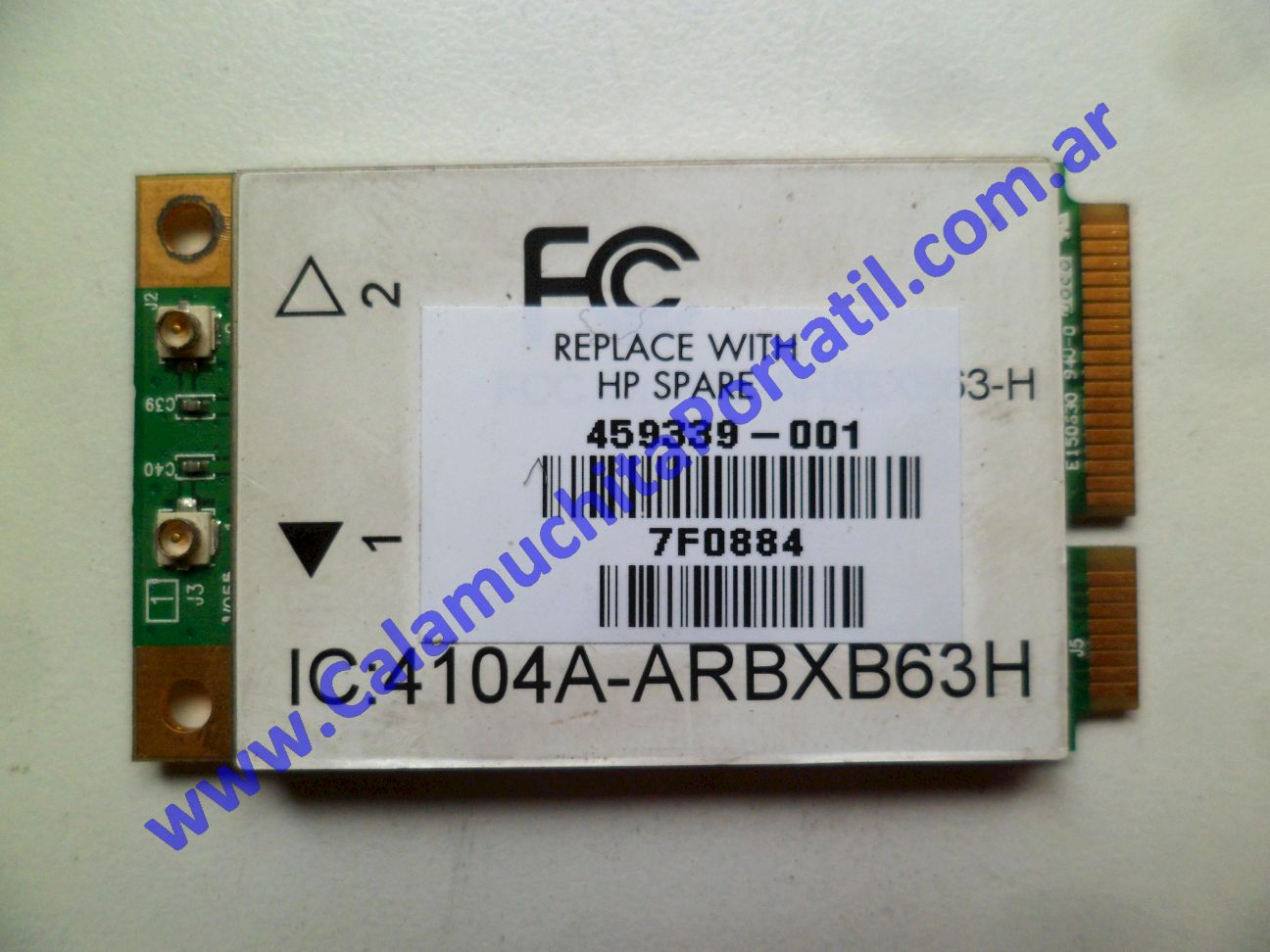 0536PWI Placa Wifi Hewlett Packard Pavillion dv5-1004nr / FE765UA#ABA