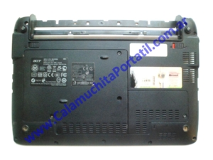 0537CAD Carcasa Base Acer Aspire One 532h-2181 / NAV50