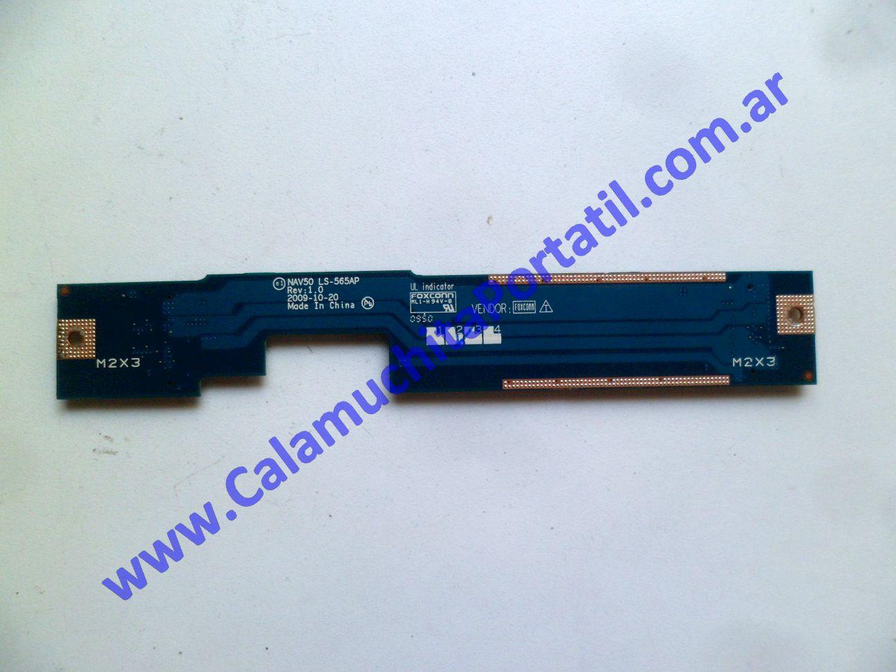 0537POT Placa Otra Acer Aspire One 532h-2181 / NAV50
