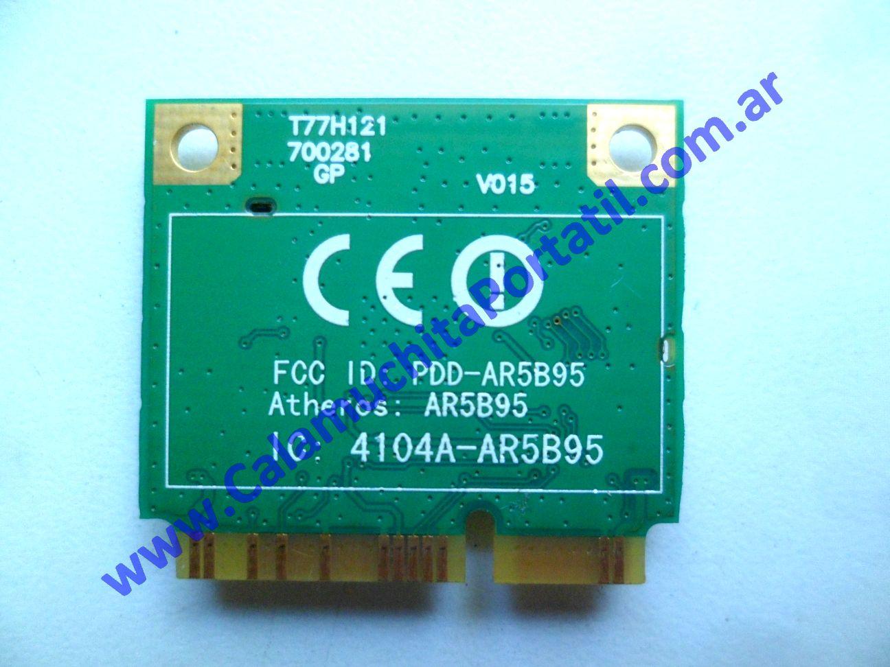 0537PWI Placa Wifi Acer Aspire One 532h-2181 / NAV50