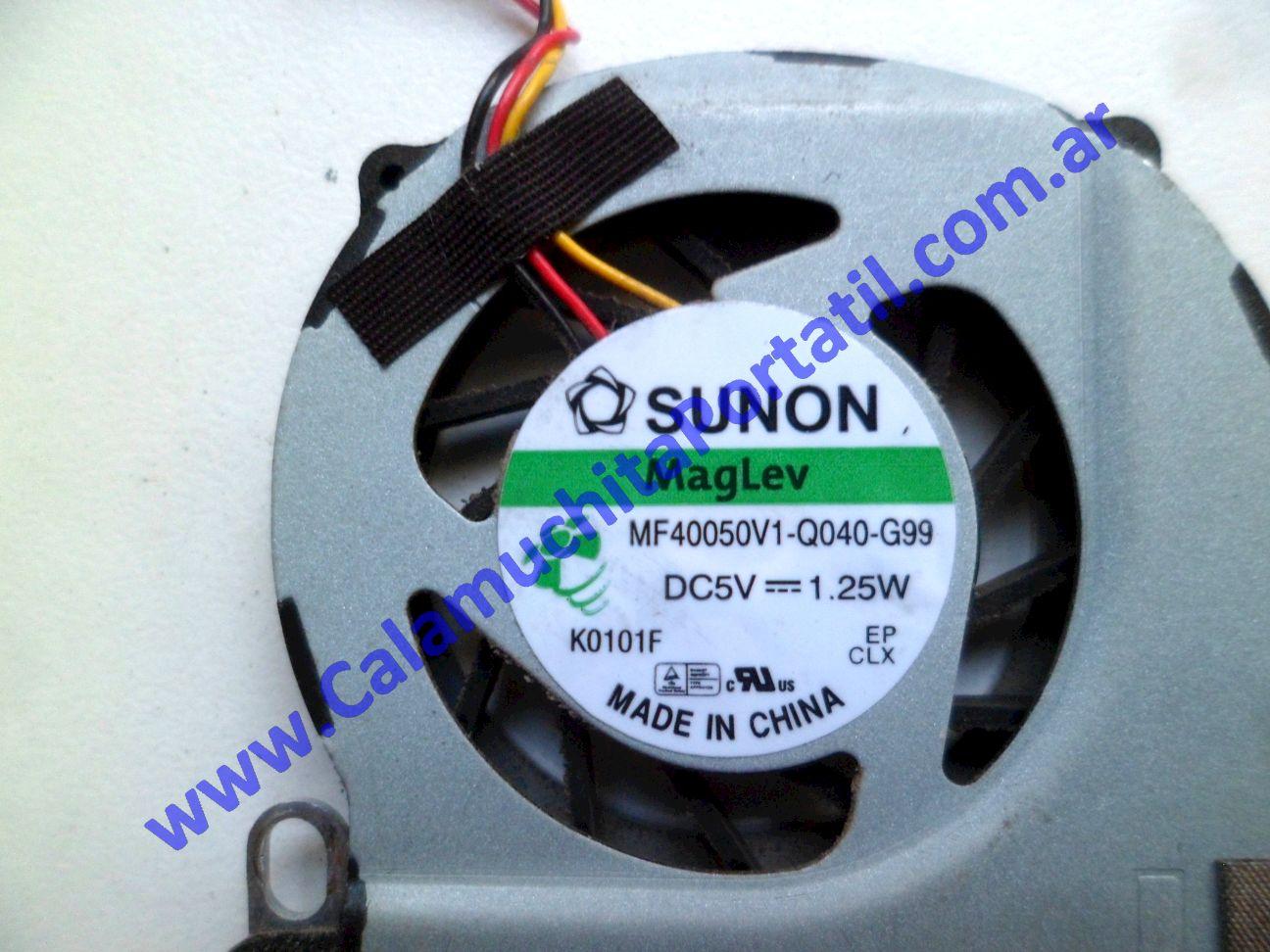 0537VDA Cooler C/Disipador Acer Aspire One 532h-2181 / NAV50