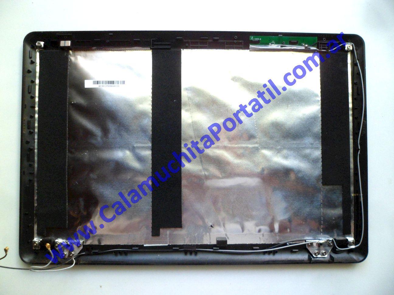 0538CAA Carcasa Tapa MSI X410-028ES / MS-1461