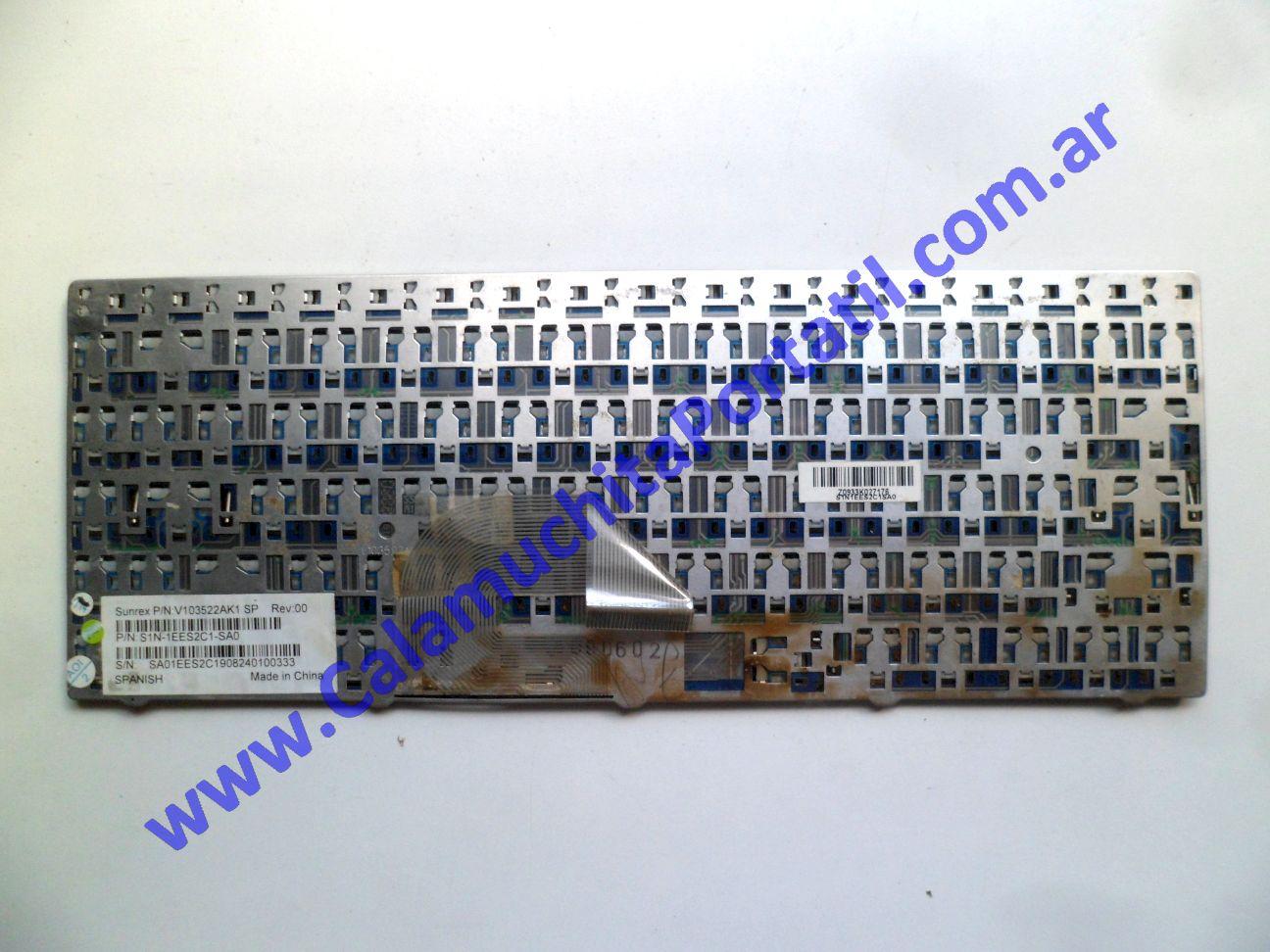 0538KBA Teclado MSI X410-028ES / MS-1461