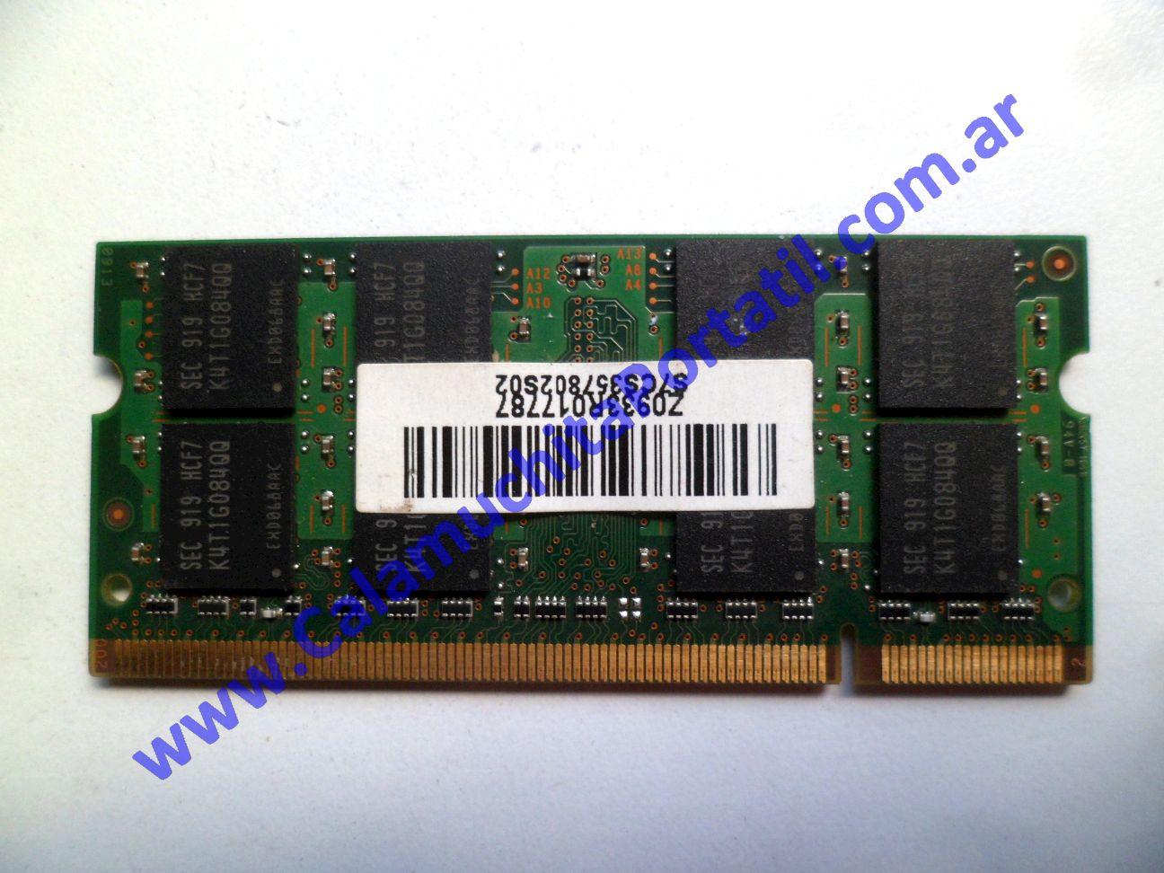 0538NMA Memoria MSI X410-028ES / MS-1461