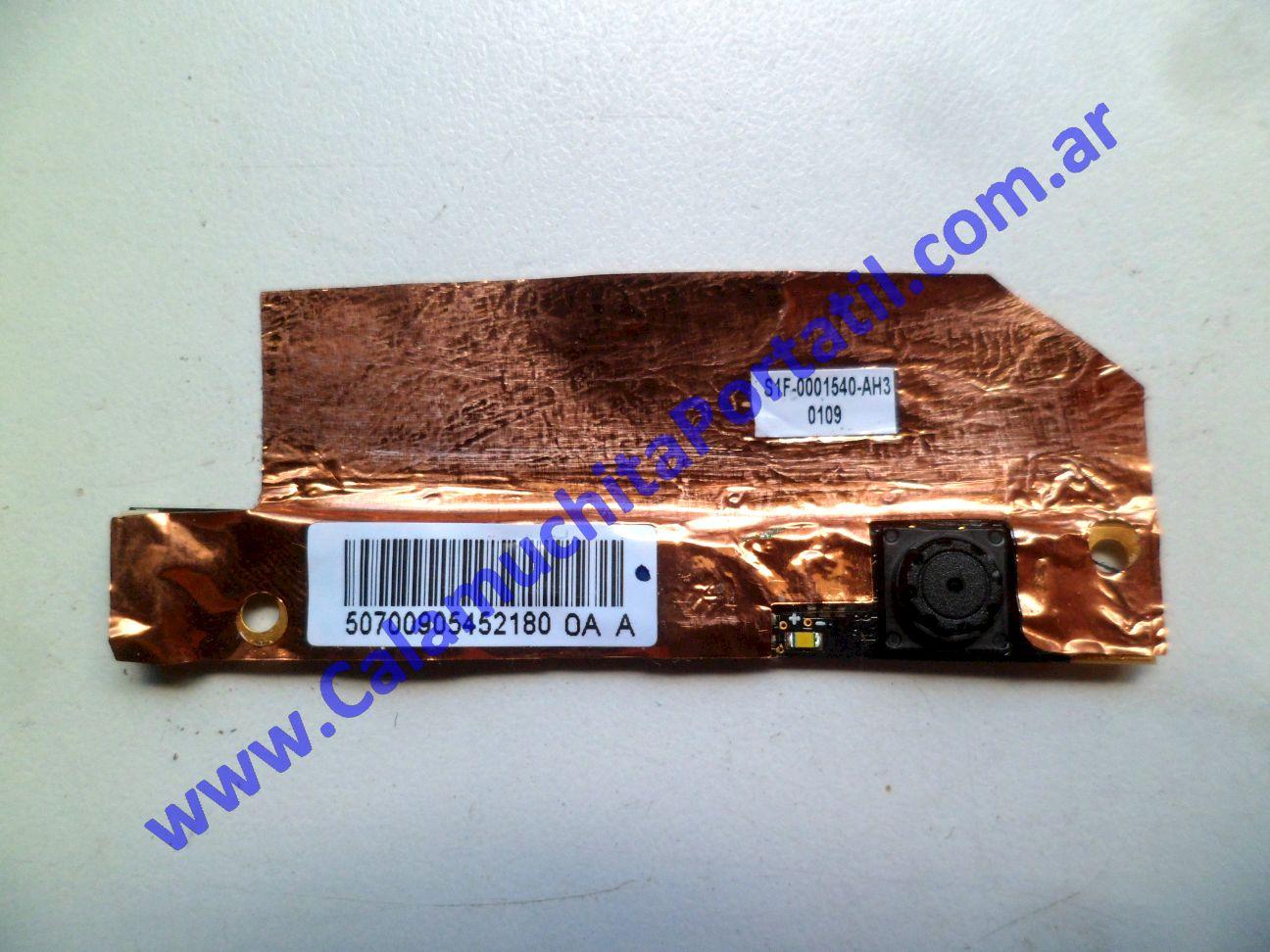 0538WEB Webcam MSI X410-028ES / MS-1461