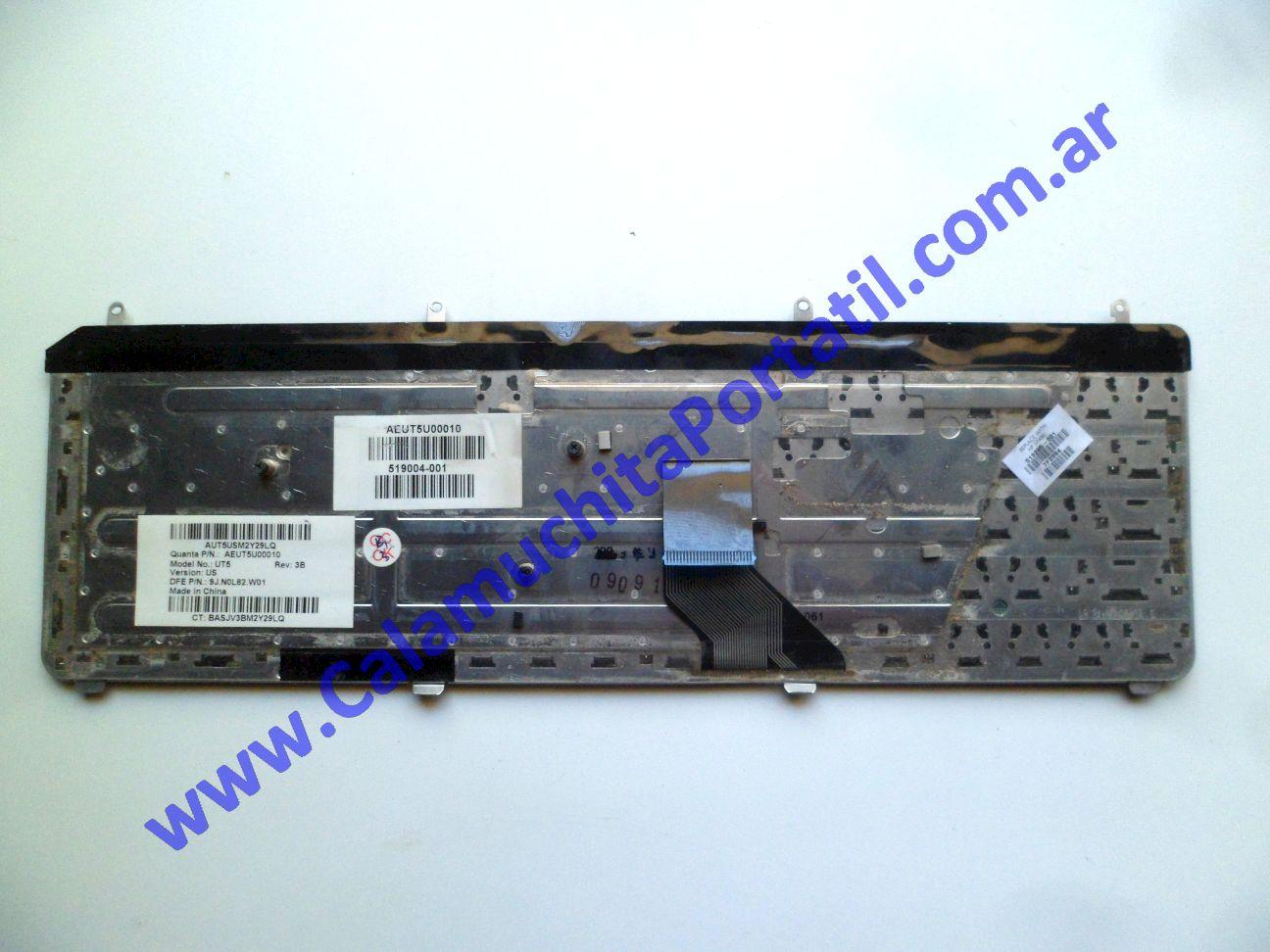 0539KBA Teclado Hewlett Packard Pavilion dv7-3079wm / VM241UA#ABA