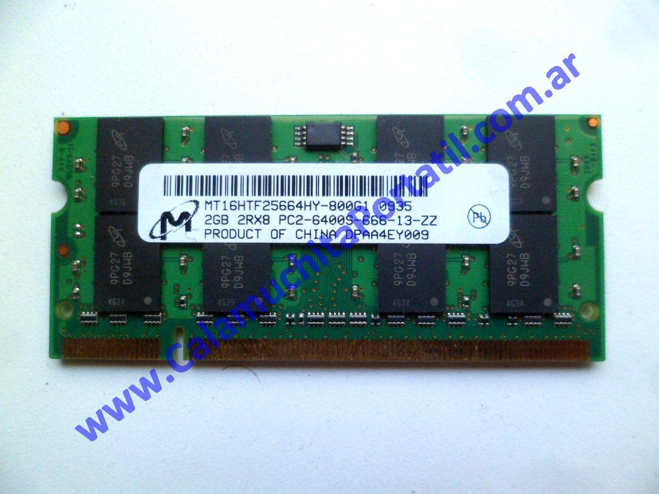0539NMA Memoria Hewlett Packard Pavilion dv7-3079wm / VM241UA#ABA