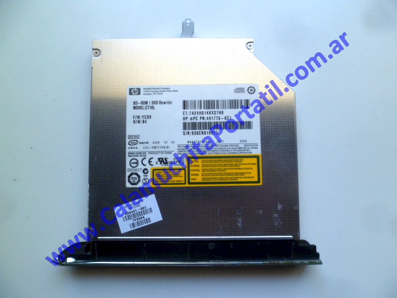 0539OPT Optico Hewlett Packard Pavilion dv7-3079wm / VM241UA#ABA