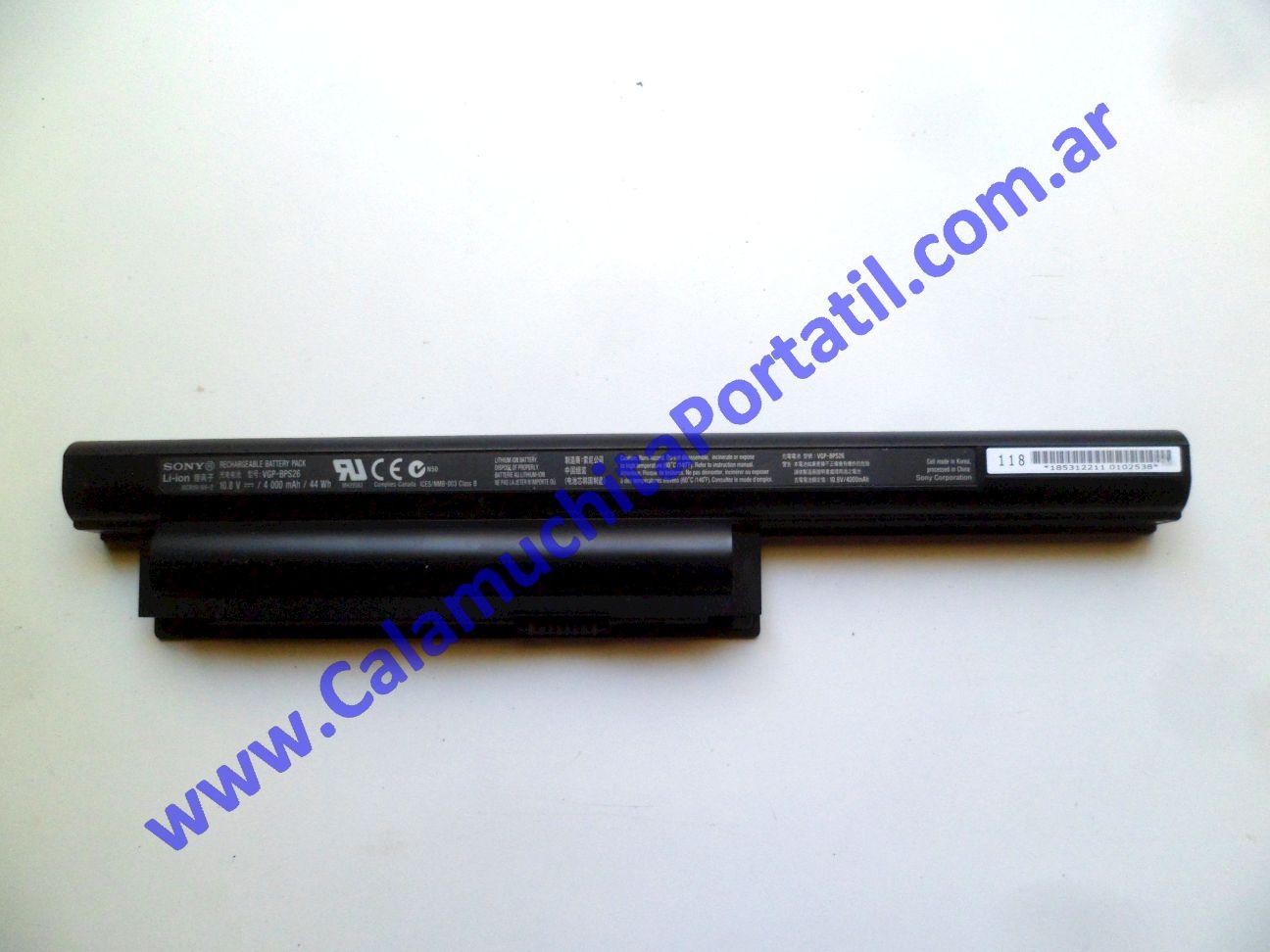 0540BAA Batería Sony Vaio VPCEH / PCG-71911u