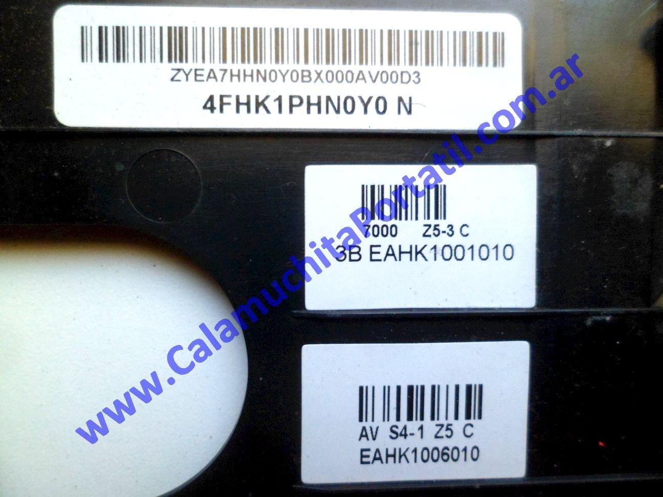 0540CAC Carcasa Teclado Sony Vaio VPCEH / PCG-71911u