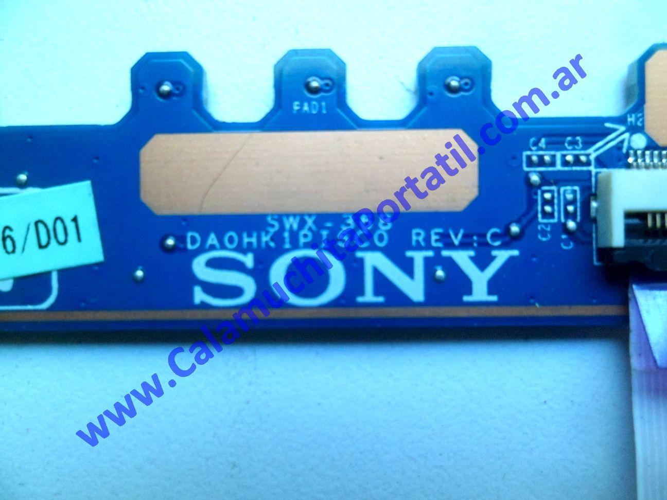 0540PEN Placa Encendido Sony Vaio VPCEH / PCG-71911u