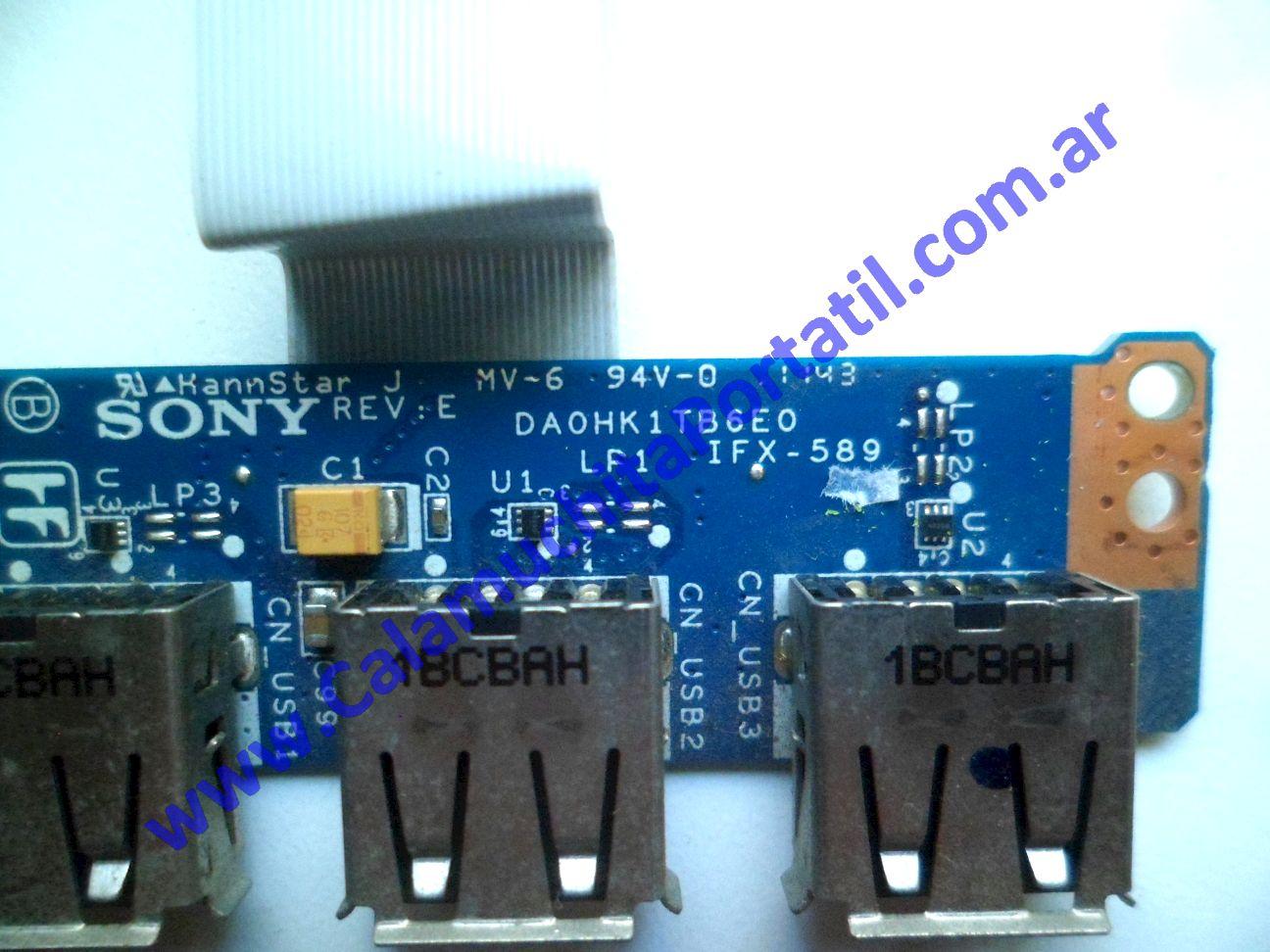 0540PUS Placa USB Sony Vaio VPCEH / PCG-71911u
