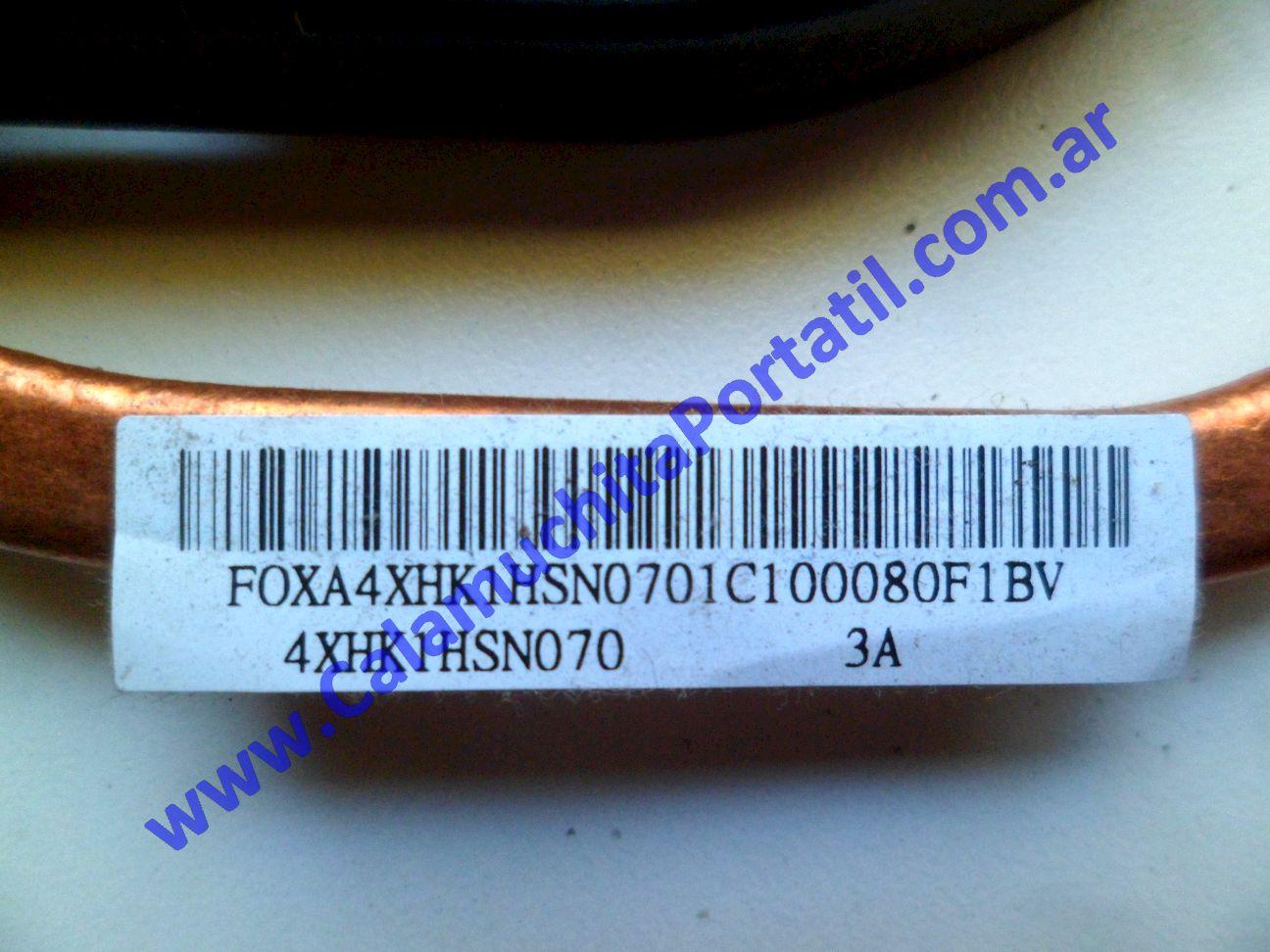 0540VDA Cooler C/Disipador Sony Vaio VPCEH / PCG-71911u