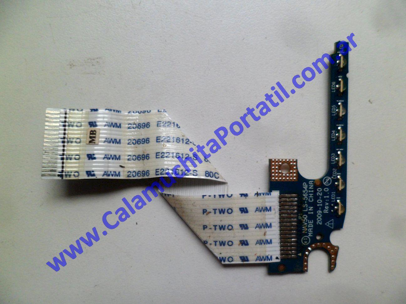 0557PLE Placa Leds Acer Aspire One 532H-2268 / NAV50