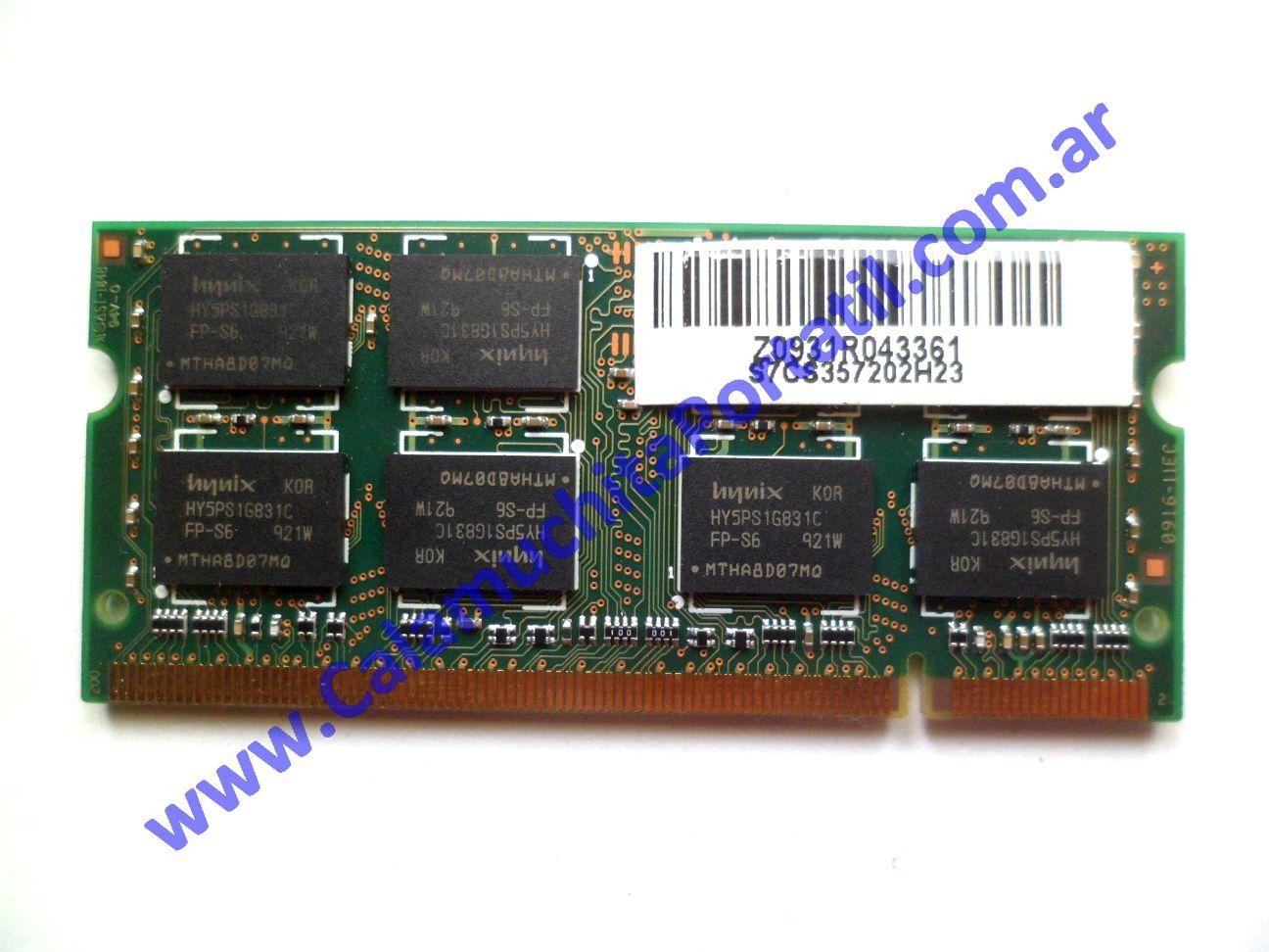 0558NMA Memoria MSI CR600X / MS-1683
