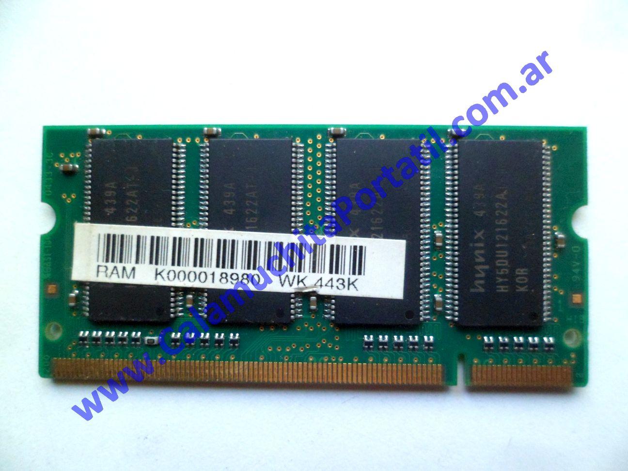 0560NMA Memoria Toshiba Satellite M35X