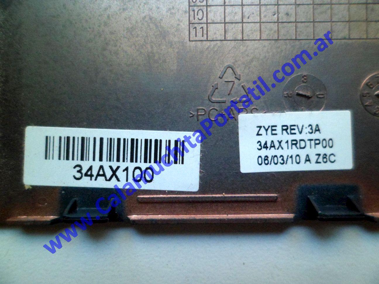 0565CTM Carcasas Tapa Memoria Compaq Presario CQ42-205LA / WX487LA#AC8