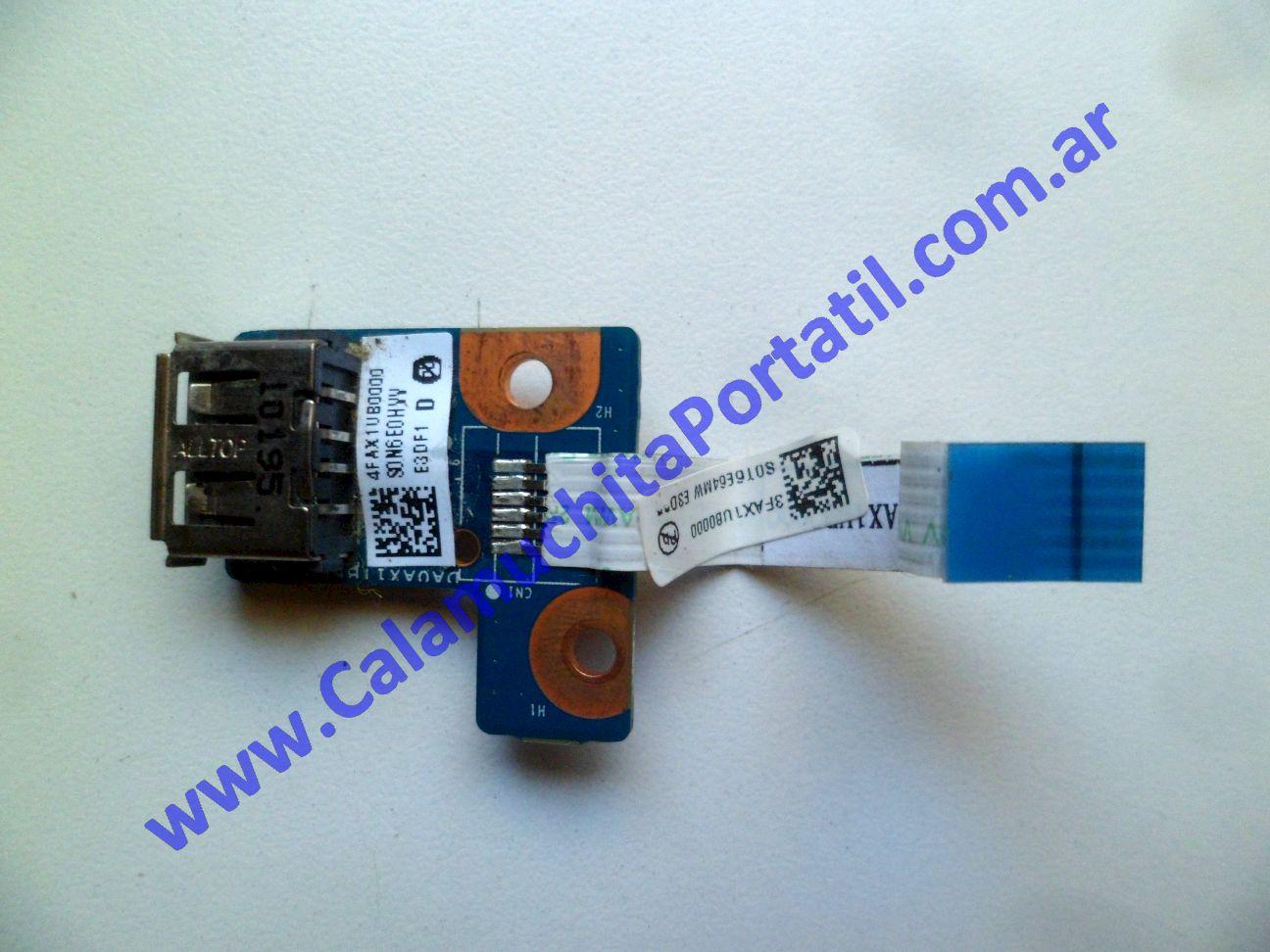 0565PUS Placa USB Compaq Presario CQ42-205LA / WX487LA#AC8