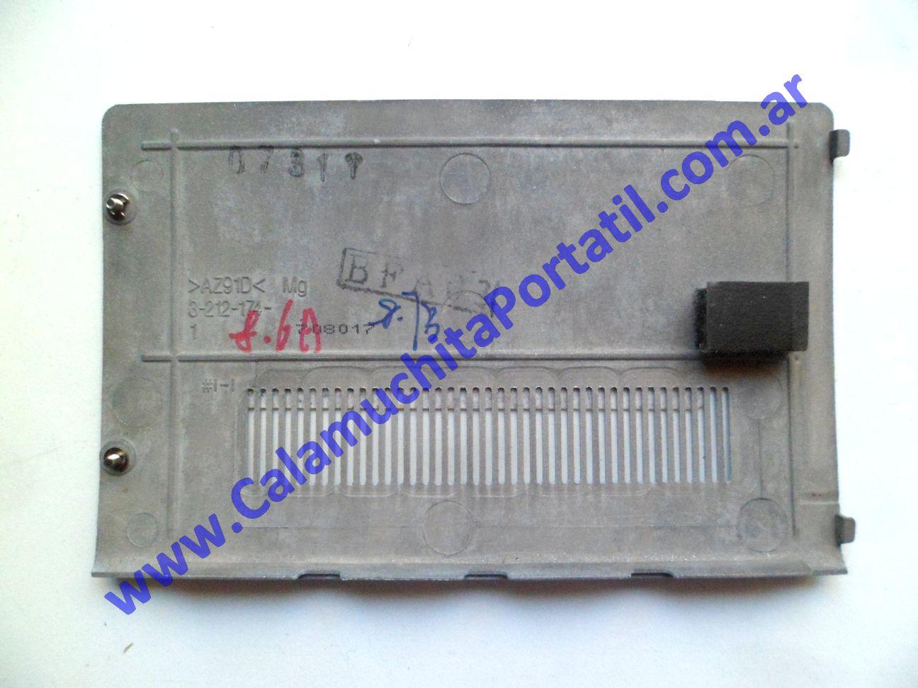 0567CTD Carcasas Tapa Disco Sony Vaio VGNCR260F / PCG-5J1P