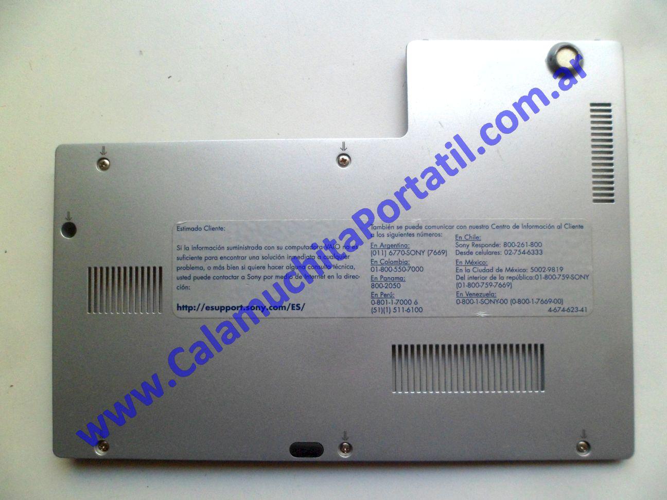 0567CTG Carcasas Tapa General Sony Vaio VGNCR260F / PCG-5J1P