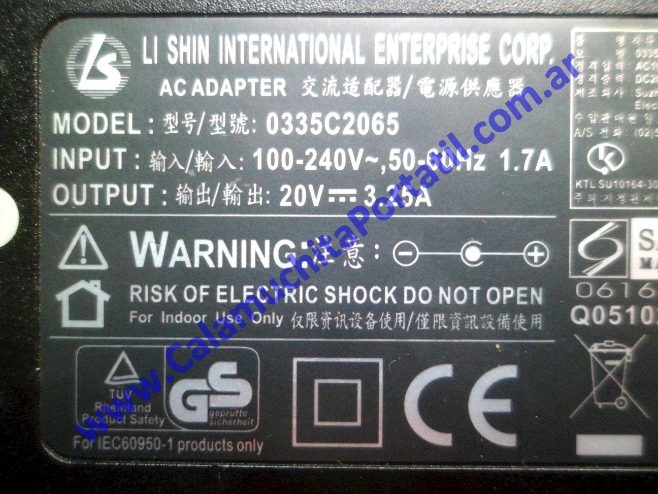 0568RCA Cargador Olivetti Olibook Series 500