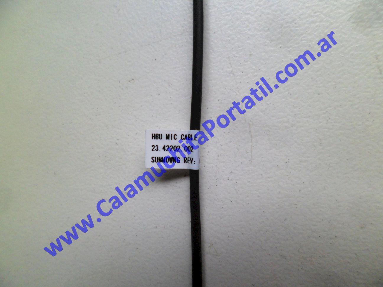 0572EMI Micrófono Hewlett Packard G60-630US / WA573UA#ABA