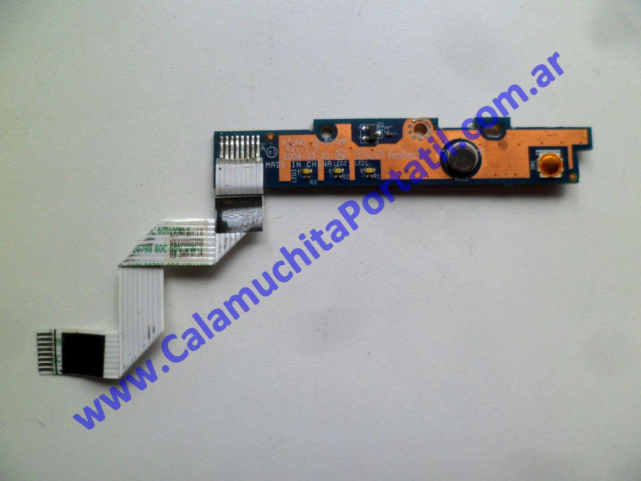 0574PLE Placa Leds Lenovo IdeaPad S10-2 / 2957