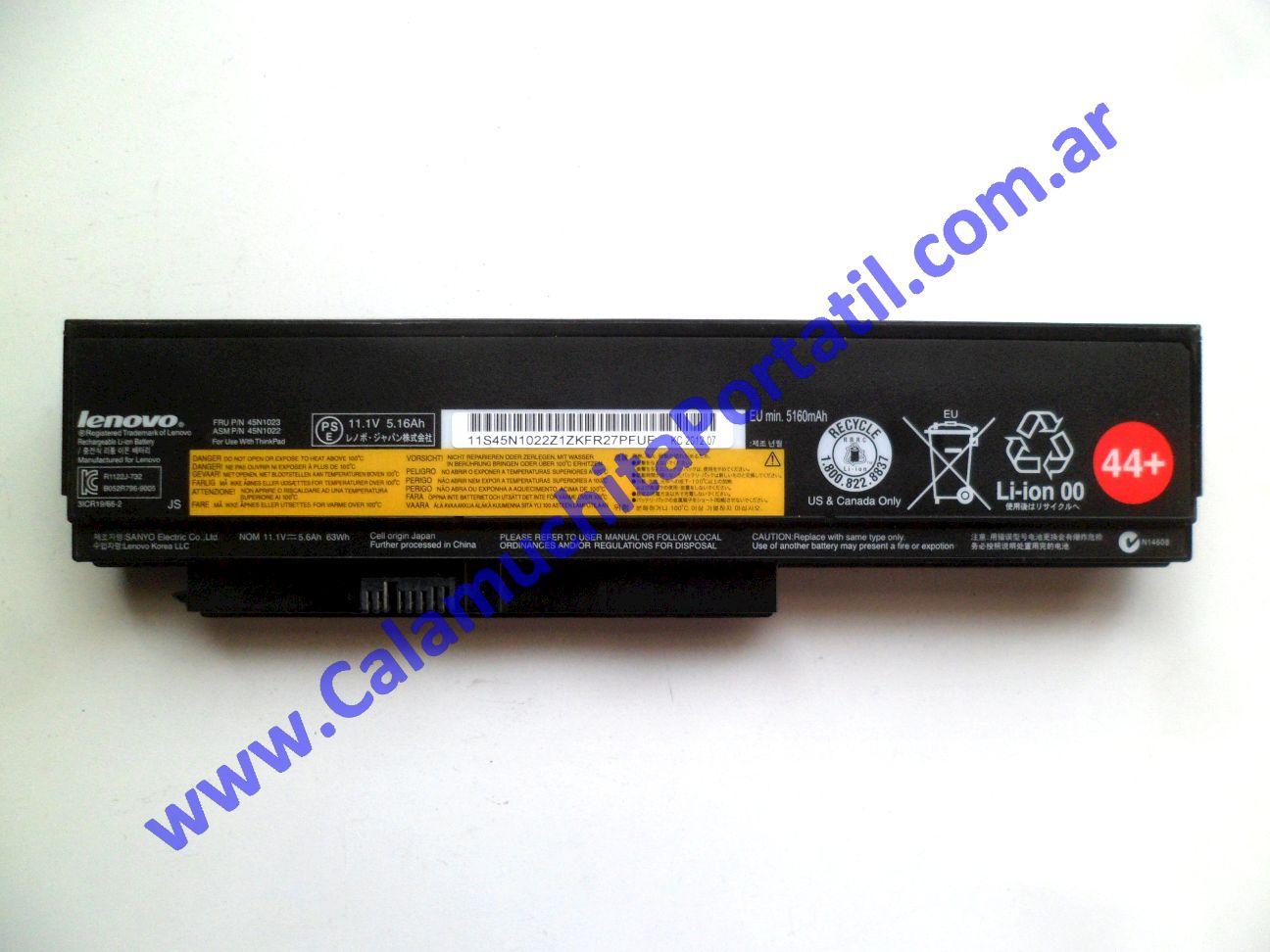 0578BAA Batería Lenovo X230 / 2325-F89