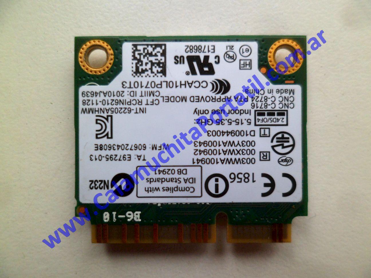 0578PWI Placa Wifi Lenovo X230 / 2325-F89