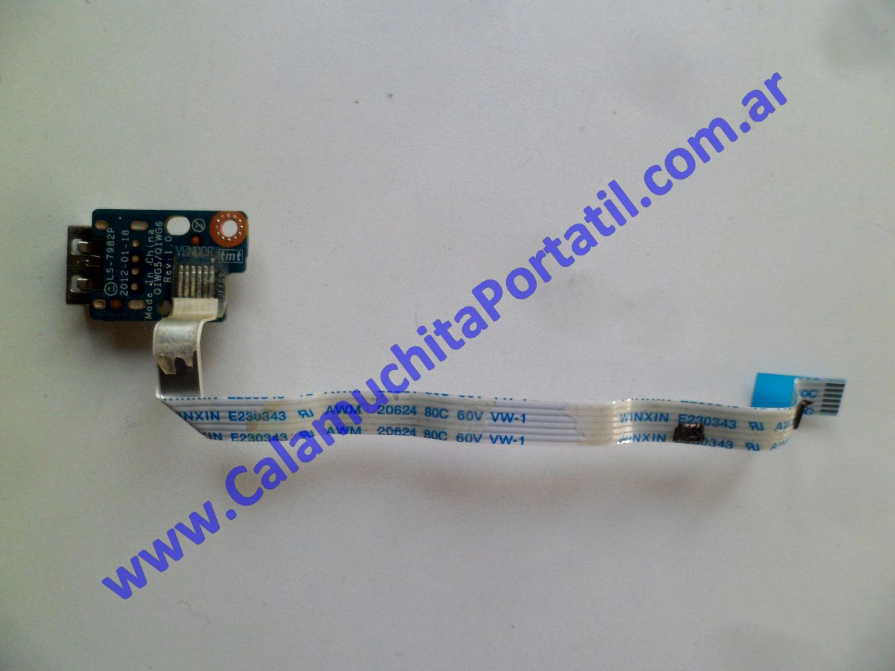 0580PUS Placa USB Lenovo G480 / 20149