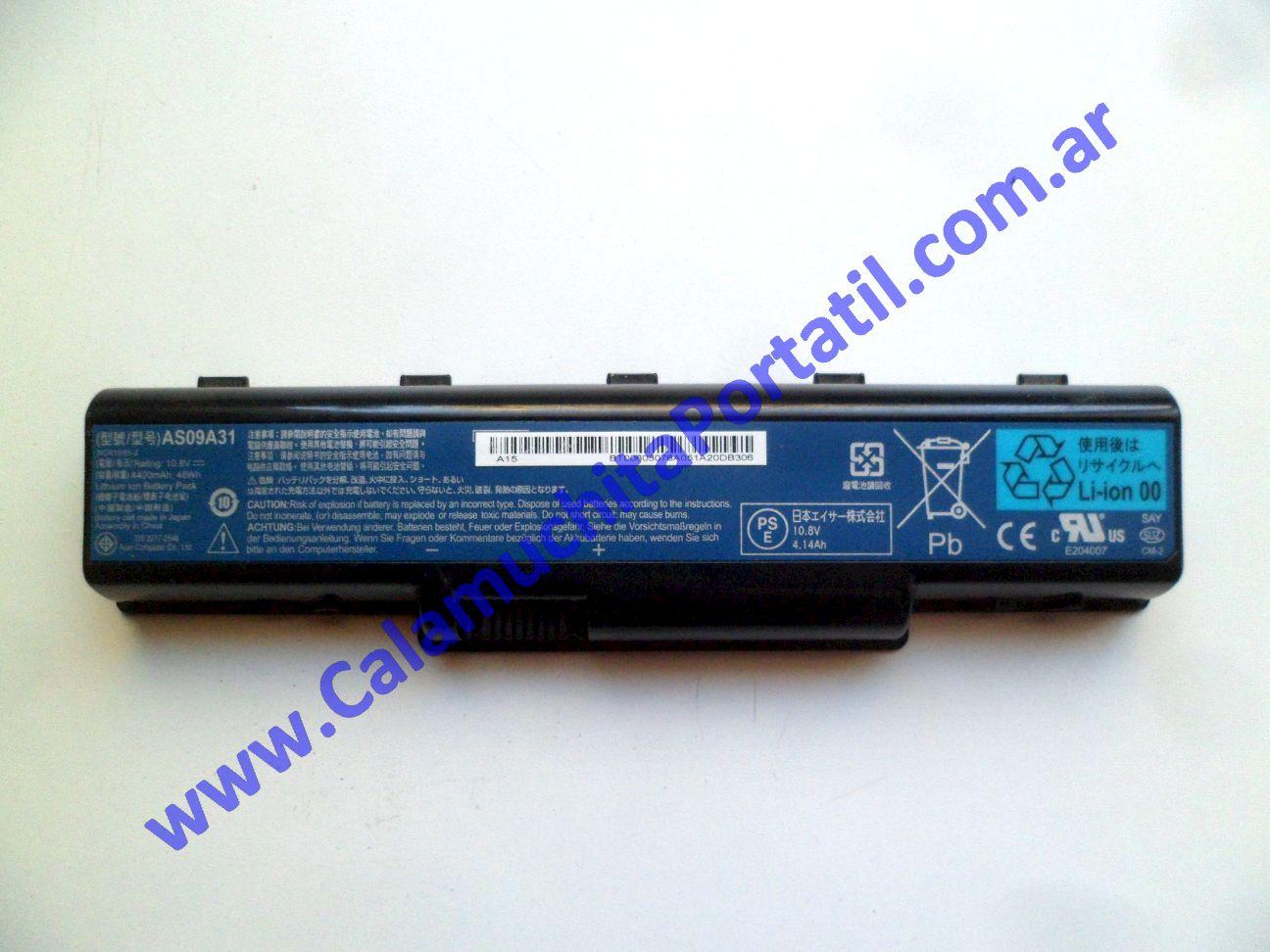 0581BAA Batería Acer Aspire 5517-1127 / KAWG0