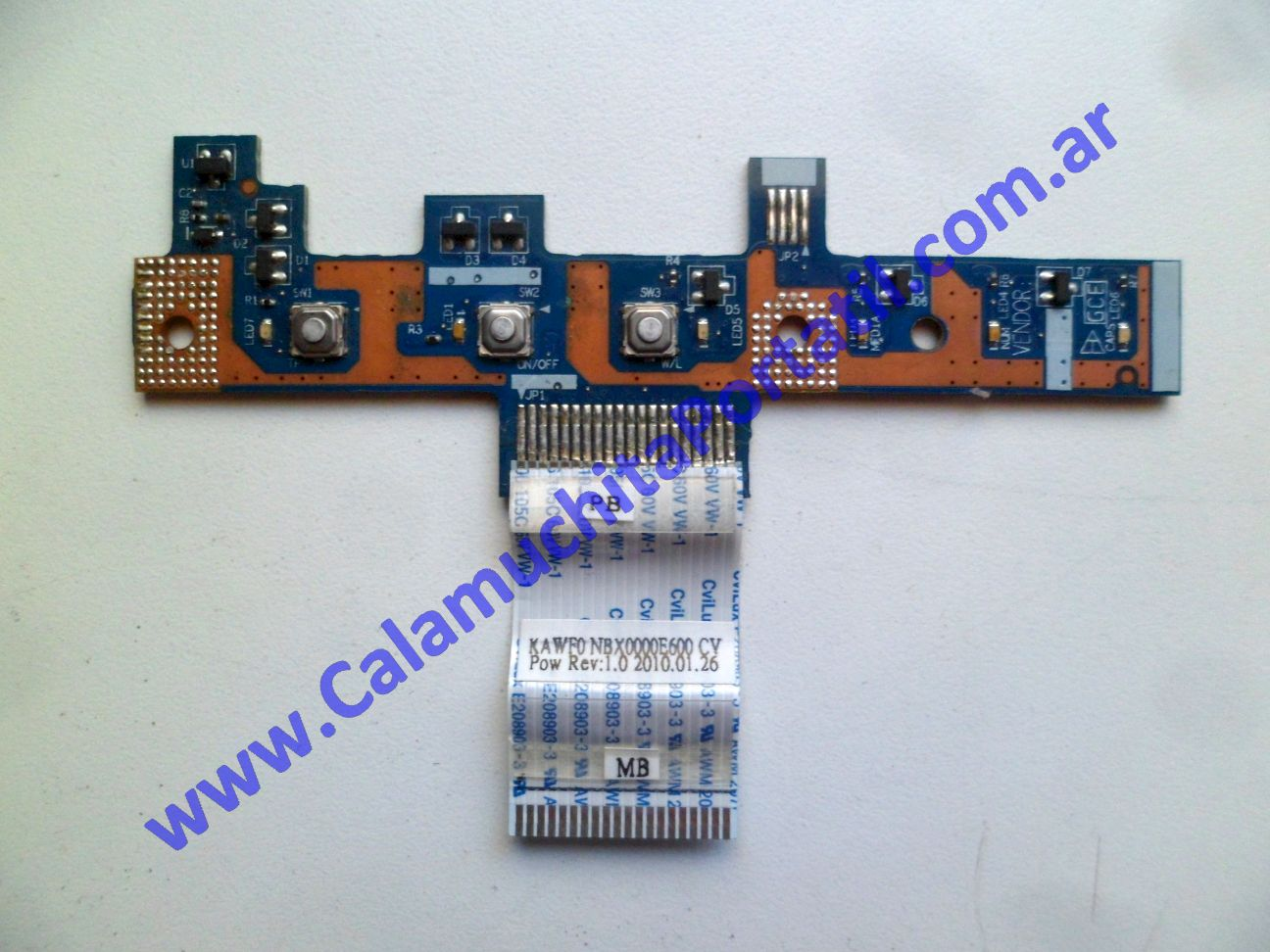0581PEN Placa Encendido Acer Aspire 5517-1127 / KAWG0