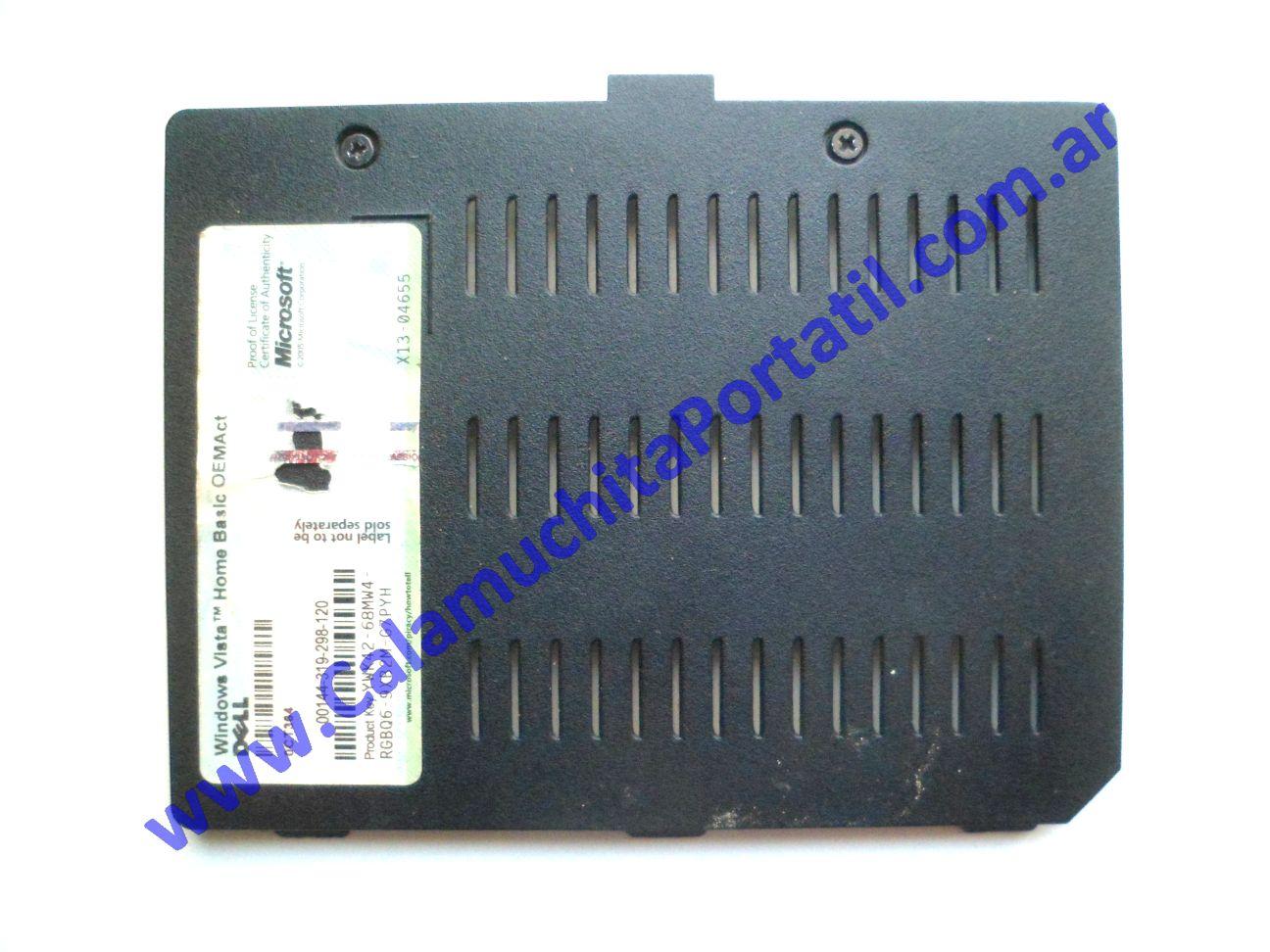 0582CTM Carcasas Tapa Memoria Dell Inspiron 1501 / PP23LA