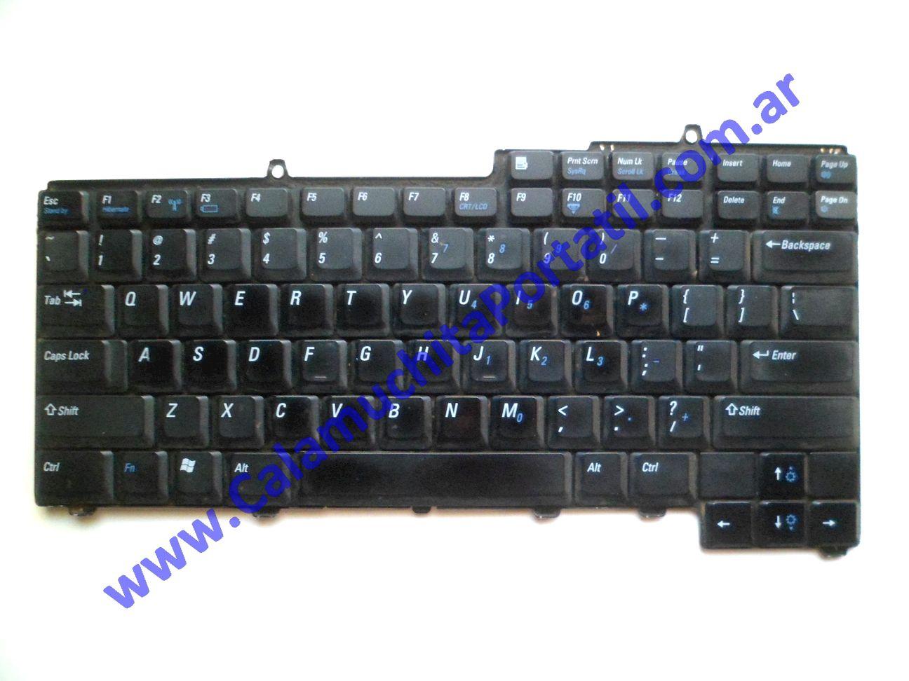 0582KBA Teclado Dell Inspiron 1501 / PP23LA