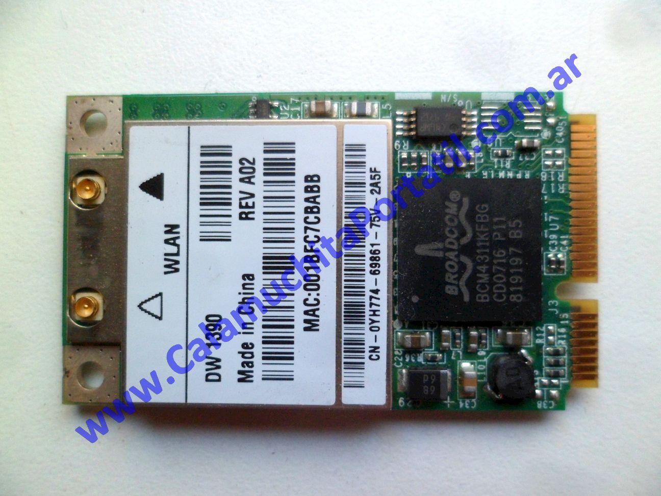 0582PWI Placa Wifi Dell Inspiron 1501 / PP23LA