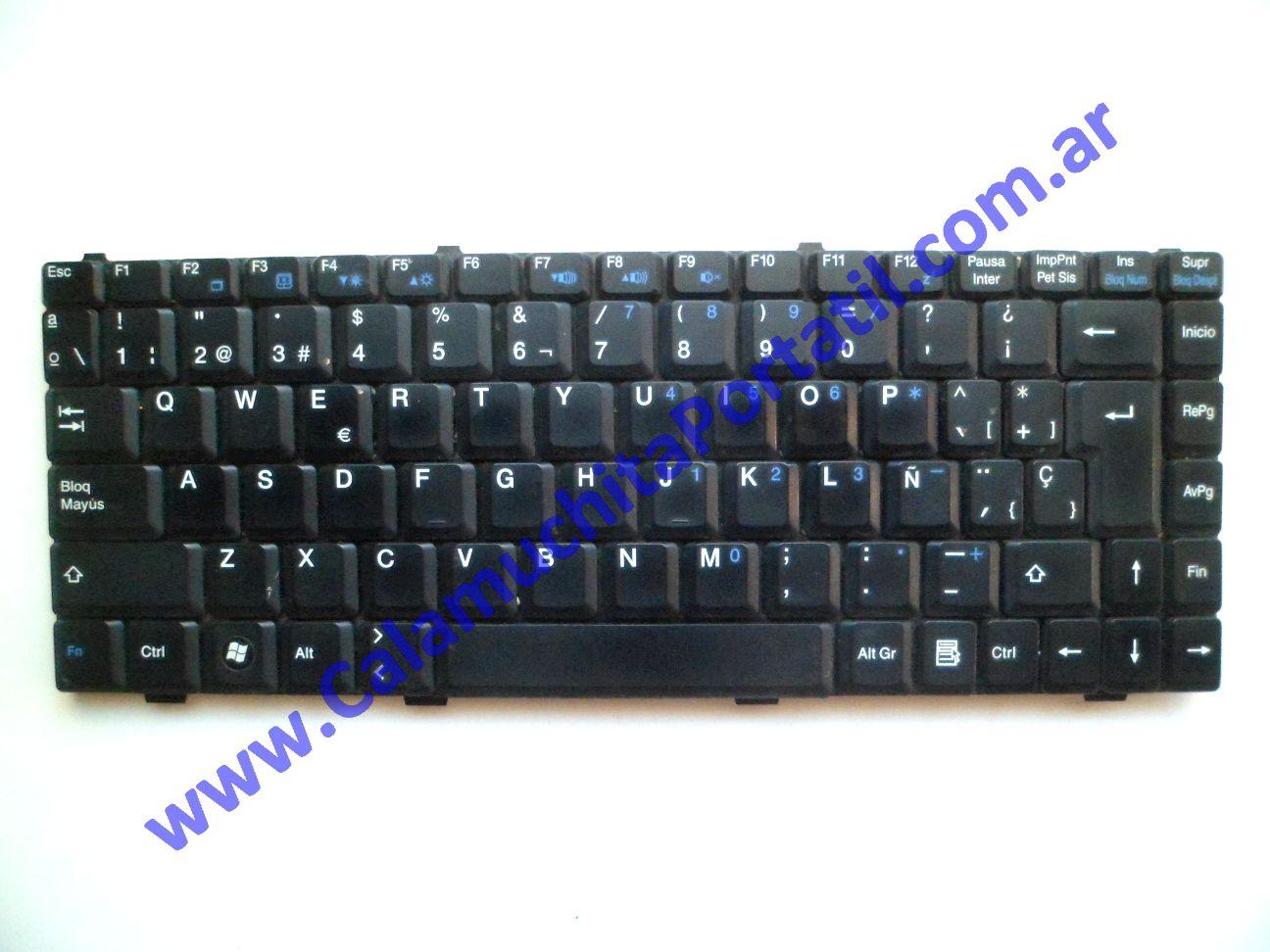 0583KBA Teclado MSI MS-1458