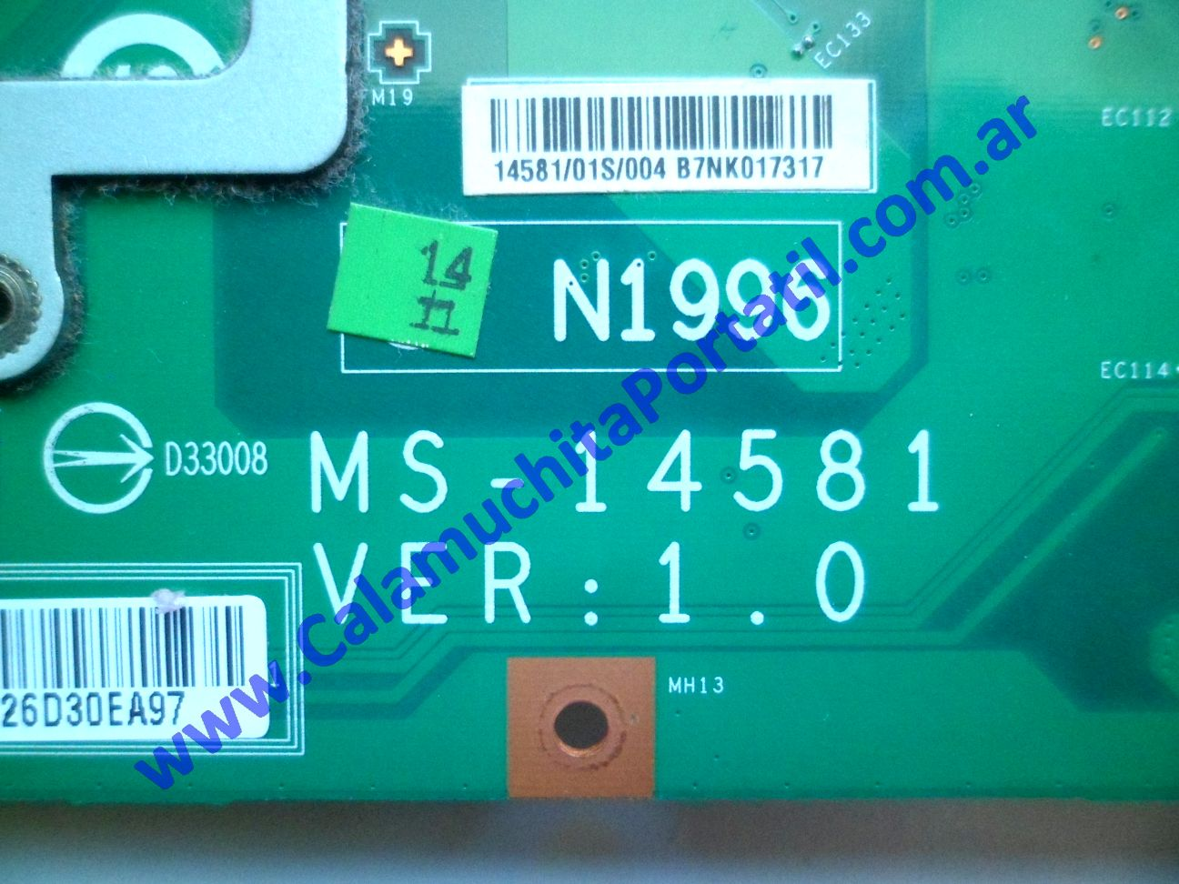 0583MOA Mother MSI MS-1458