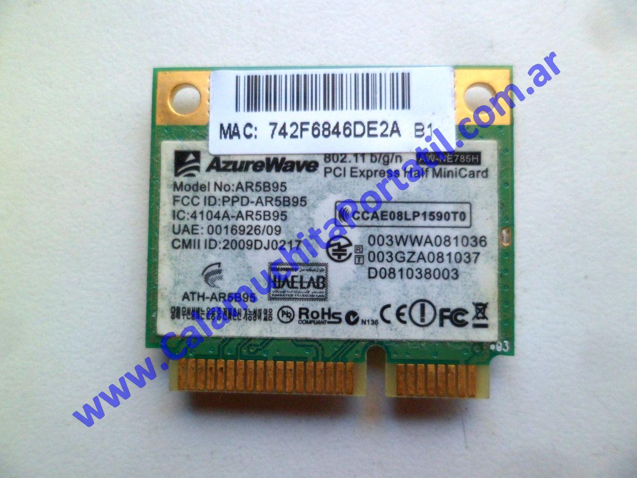 0583PWI Placa Wifi MSI MS-1458
