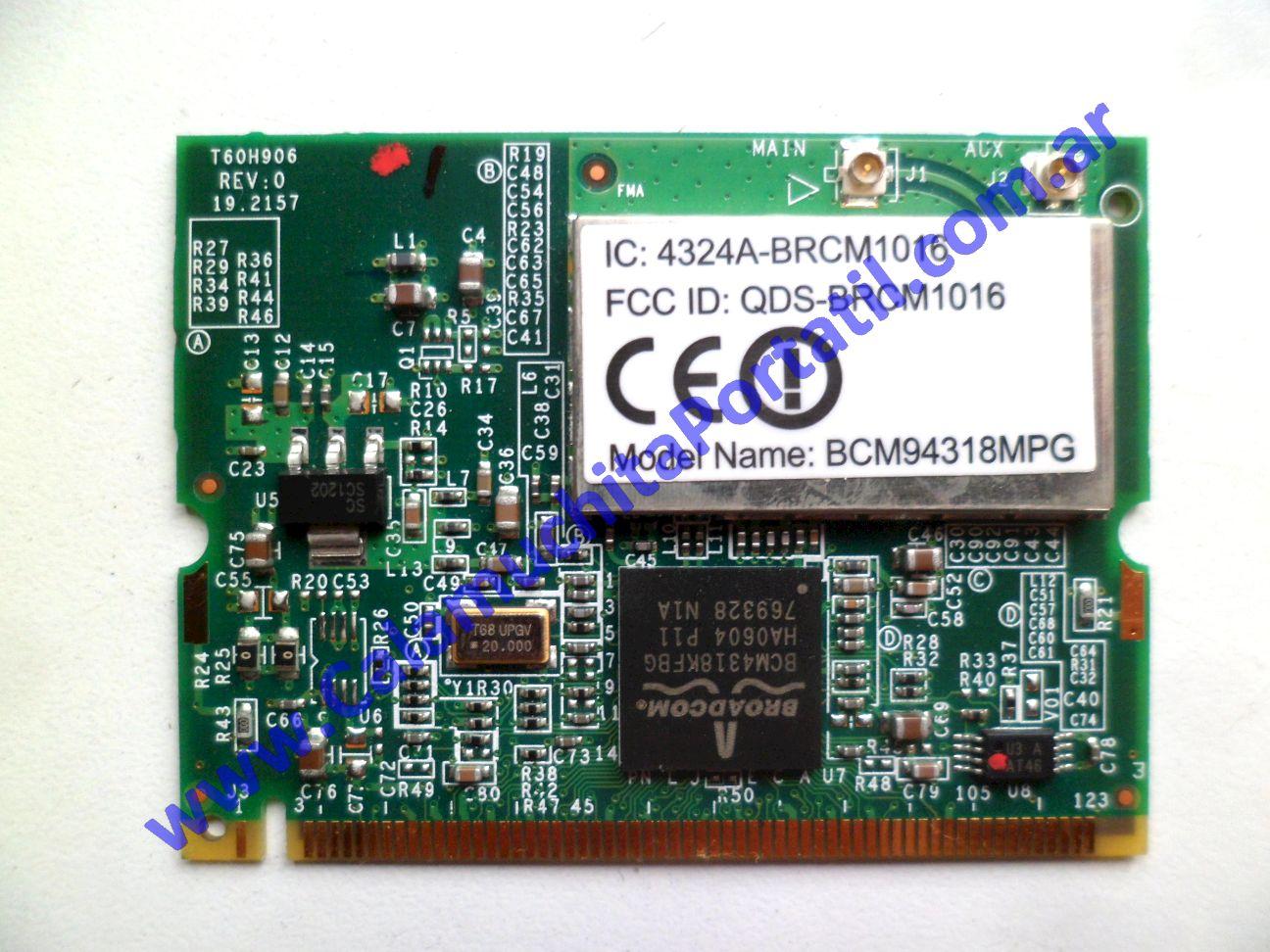 0584PWI Placa Wifi Acer Aspire 3004WLMi / ZL5